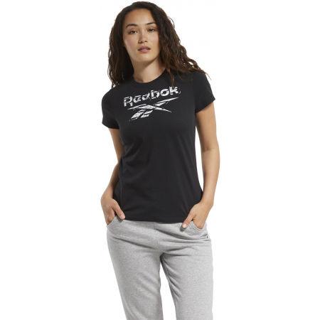 Dámské tričko - Reebok TE GRAPHIC TEE STACK LOGO - 3