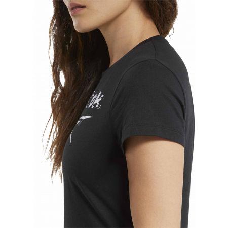 Dámské tričko - Reebok TE GRAPHIC TEE STACK LOGO - 6