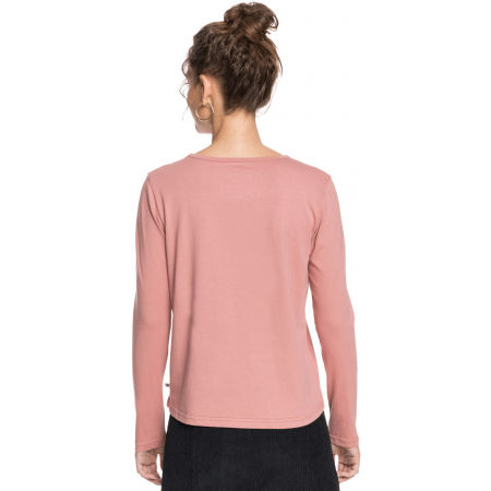 Koszulka damska z długim rękawem - Roxy RED SUNSET LS - 2