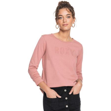 Koszulka damska z długim rękawem - Roxy RED SUNSET LS - 3
