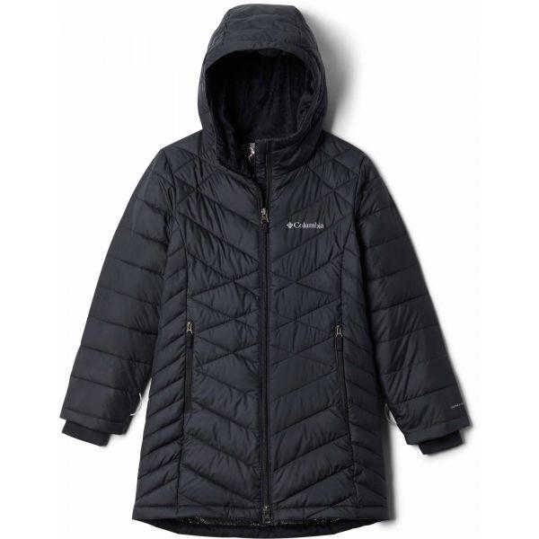 Columbia G HEAVENLY LONG JACKET černá M - Dívčí bunda
