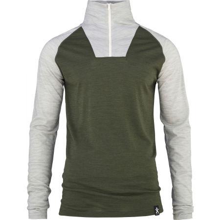 Bula RETRO WOOL HZ - Pánske tričko s dlhým rukávom