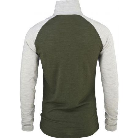 Tricou cu mâneci lungi bărbați - Bula RETRO WOOL HZ - 2