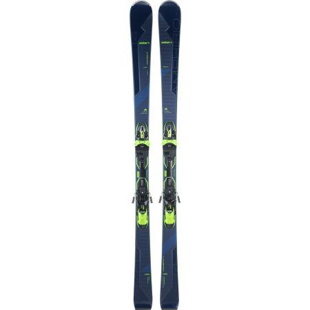 Unisex downhill skis - Elan AMPHIBIO 14 TI FUSION + EMX 11 BLU - 2