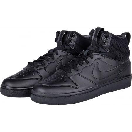 Obuwie miejskie dziecięce - Nike COURT BOROUGH MID 2 BOOT GS - 2