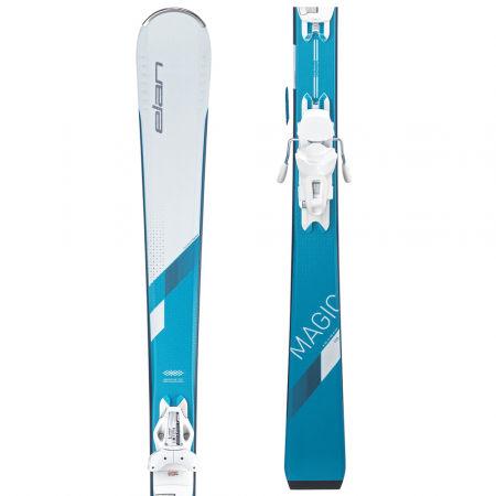 Elan WHITE MAGIC LS + ELW 9 - Дамски ски
