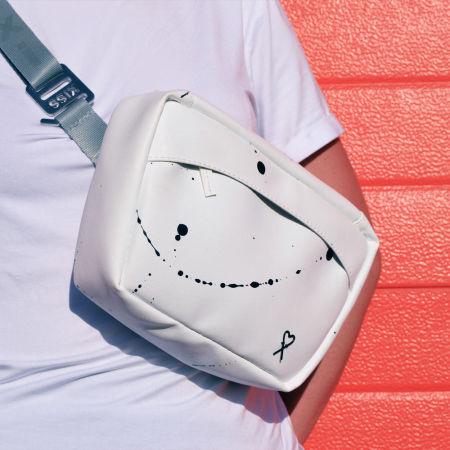 Dámská ledvinka - XISS SPLASHED WHITE - 5