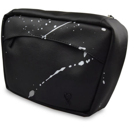 Dámská ledvinka - XISS SPLASHED BLACK - 3