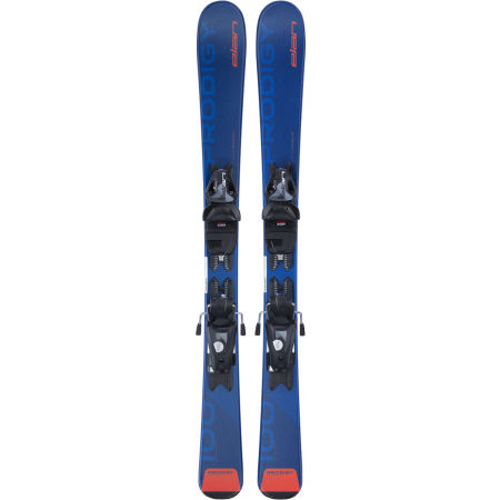 Dětské sjezdové lyže - Elan PRODIGY QS + 7.5 BLU - 2