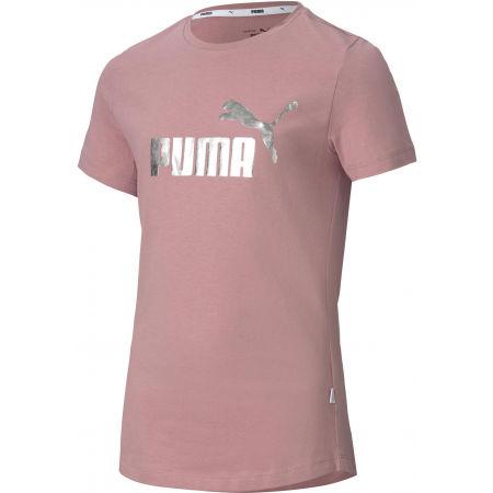 Тениска за момичета - Puma ESS + TEE G - 1