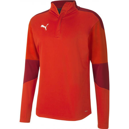 Puma TEAM FINAL 24 TRAINING RAIN TOP - Pánska mikina