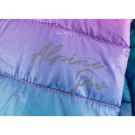 Girls' ski jacket - ALPINE PRO KRALO - 3