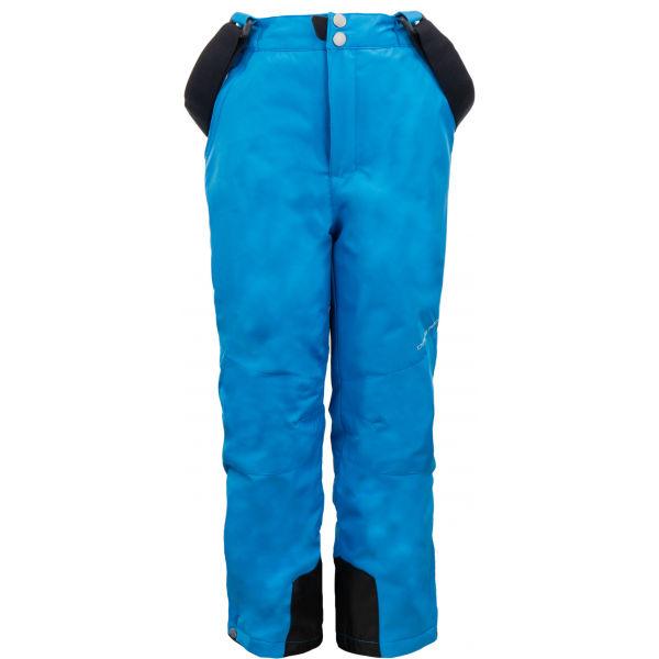 ALPINE PRO MEGGO modrá 128-134 - Dětské lyžařské kalhoty
