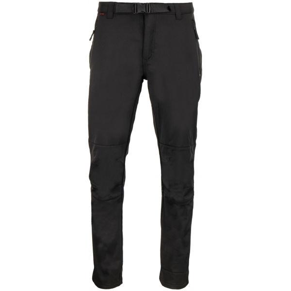 ALPINE PRO GUNNR - Pánske softshellové nohavice