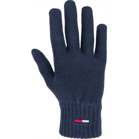 Tommy Hilfiger TJM BASIC FLAG RIB GLOVES - Pánské rukavice