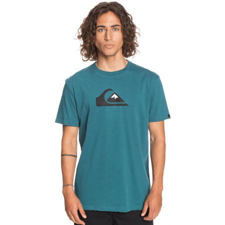 Koszulka męska - Quiksilver COMP LOGO SS - 2