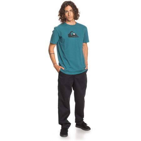 Koszulka męska - Quiksilver COMP LOGO SS - 4