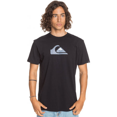 Men's T-shirt - Quiksilver COMP LOGO SS - 2