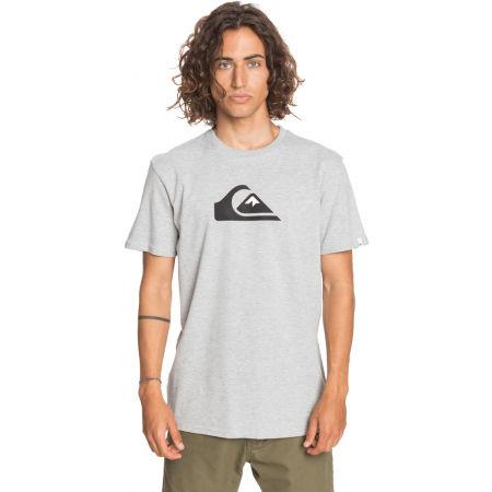 Men's T-shirt - Quiksilver COMP LOGO SS - 2