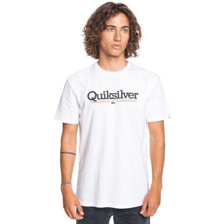 Men's T-shirt - Quiksilver TROPICAL LINES SS - 2