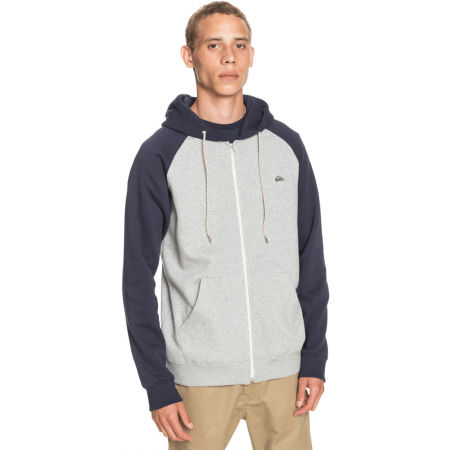 Men's sweatshirt - Quiksilver EVERYDAY ZIP - 1
