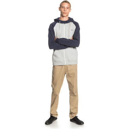 Men's sweatshirt - Quiksilver EVERYDAY ZIP - 4