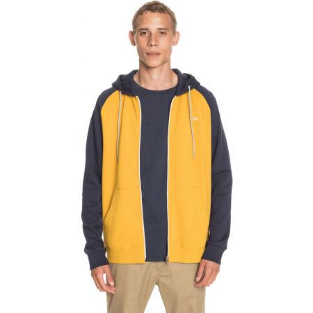Men's sweatshirt - Quiksilver EVERYDAY ZIP - 4