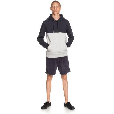 Men's sweatshirt - Quiksilver EMBOSS BLOCK HOODIE - 3