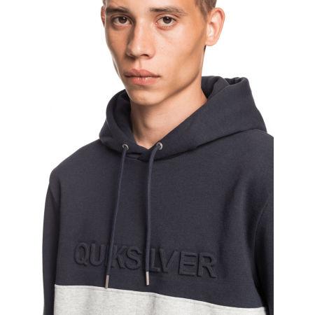 Men's sweatshirt - Quiksilver EMBOSS BLOCK HOODIE - 4