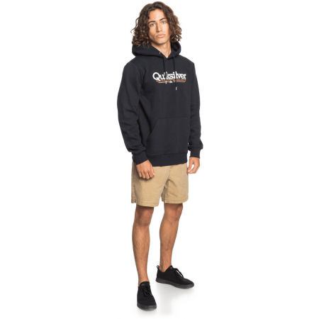 Men's sweatshirt - Quiksilver TROPICAL LINES SCREEN FLEECE - 3