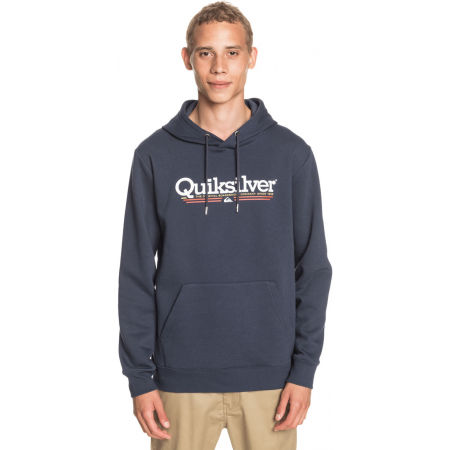 Men's sweatshirt - Quiksilver TROPICAL LINES SCREEN FLEECE - 1