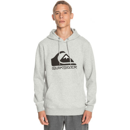Quiksilver SQUARE ME UP SCREEN FLEECE - Bluza męska