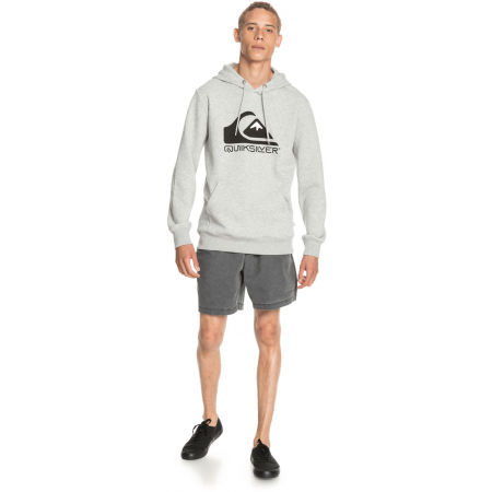 Férfi pulóver - Quiksilver SQUARE ME UP SCREEN FLEECE - 4