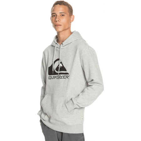 Férfi pulóver - Quiksilver SQUARE ME UP SCREEN FLEECE - 2