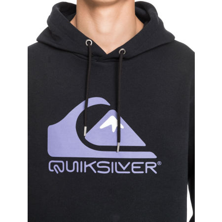 Men's sweatshirt - Quiksilver SQUARE ME UP SCREEN FLEECE - 4