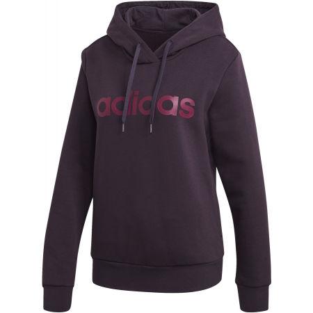 Women's hoodie - adidas E LIN OHHD FL - 1