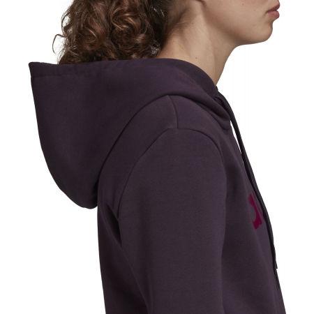 Women's hoodie - adidas E LIN OHHD FL - 9