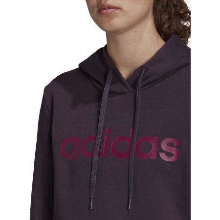 Women's hoodie - adidas E LIN OHHD FL - 8