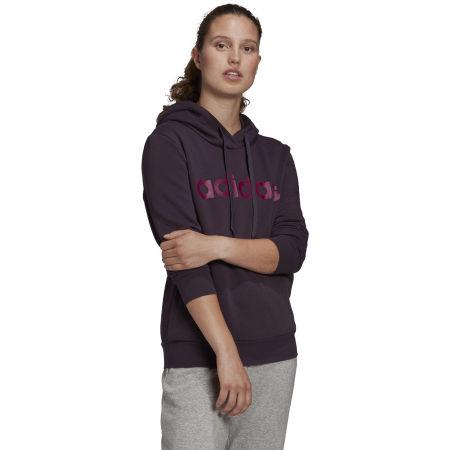 Women's hoodie - adidas E LIN OHHD FL - 5