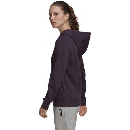 Women's hoodie - adidas E LIN OHHD FL - 6
