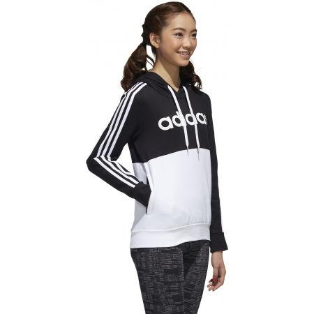 Dámska mikina - adidas WOMENS ESSENTIALS COLORBLOCK FLEECE HOODE - 5