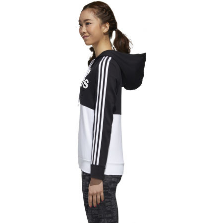 Dámska mikina - adidas WOMENS ESSENTIALS COLORBLOCK FLEECE HOODE - 6