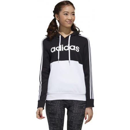 Dámska mikina - adidas WOMENS ESSENTIALS COLORBLOCK FLEECE HOODE - 4