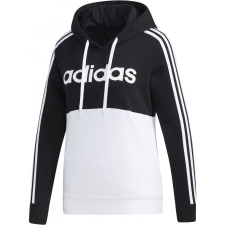 adidas WOMENS ESSENTIALS COLORBLOCK FLEECE HOODE - Dámska mikina