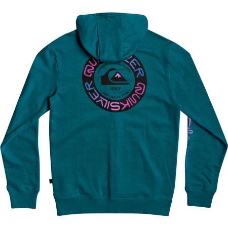 Men's sweatshirt - Quiksilver TIME CIRCLE SCREEN FLEECE - 2