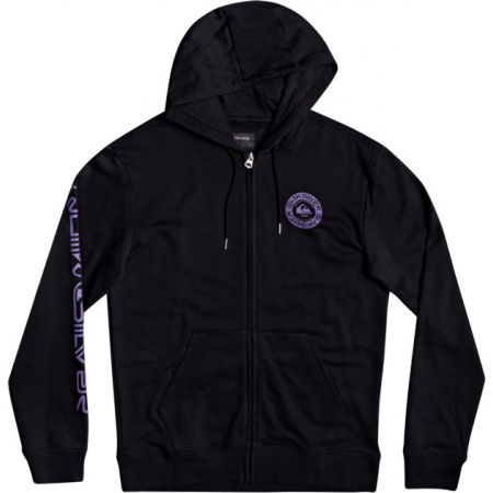 Quiksilver TIME CIRCLE SCREEN FLEECE - Bluza męska