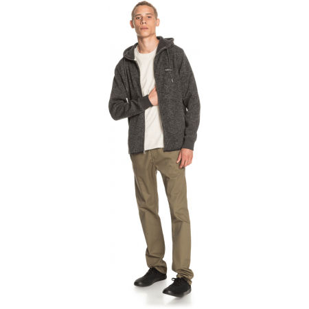 Men's sweatshirt - Quiksilver KELLER ZIP - 4