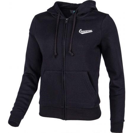 Women's hoodie - Converse STAR CHEVRON NOVA FZ BB - 2