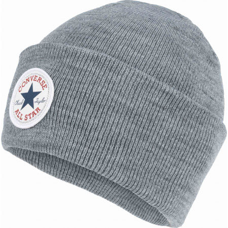 Зимна шапка - Converse TALL CHUCK PATCH BEANIE - 1