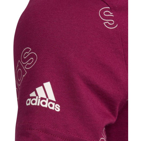 Girls' T-shirt - adidas YG FAV TEE - 4